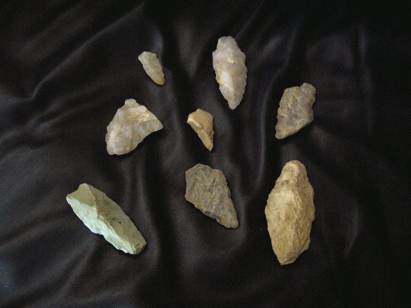 2002-1-arrowheads-found-on-the-property-while-the-house-and-barn-were-under-construction