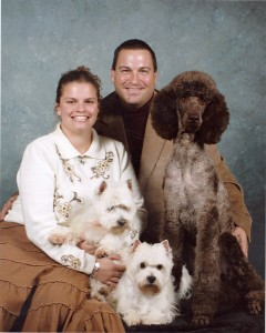 2009-10 WENDY BLAKE SPRITE HARLEY & TOPANGA JUST 2 MONTHS BEFORE SPRITE PASSED